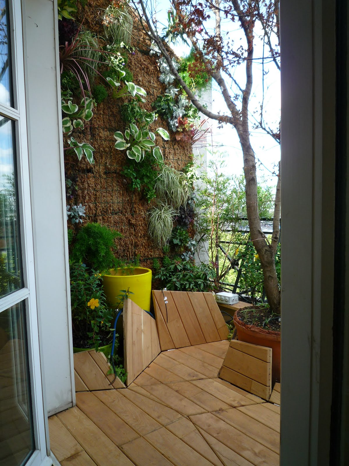 Am nagement d 39 un balcon paris les mains de jardin for Balcons et terrasses de paris